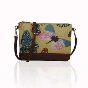 Kabelka Small Crossbody Butterfly Dream - žlutá